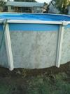Pool Top Rails and Uprights