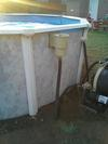 Pool Skimmer and Filter