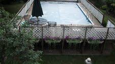 Uninstall A 16 X 24 Rectangular Fanta Sea Deck Pool