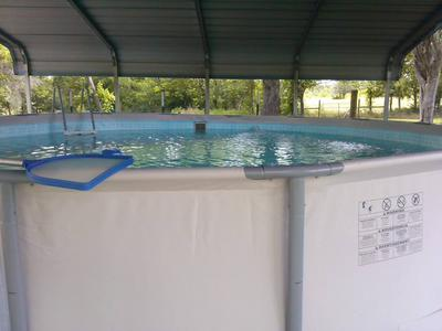 Metal Frame Pool Not Level