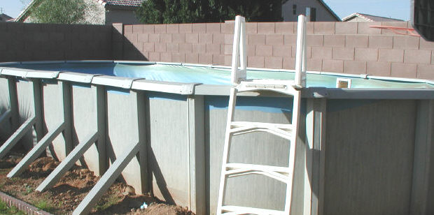 used above ground pool 2 Used Above Ground Pools For Sale
