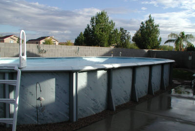 Oval Pool Questions