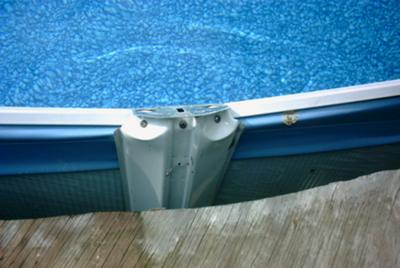 Above Ground Pool Vertical Support
