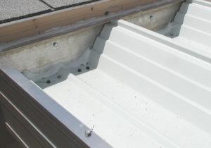 aluminum W panel
