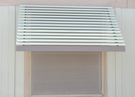 aluminum window awning