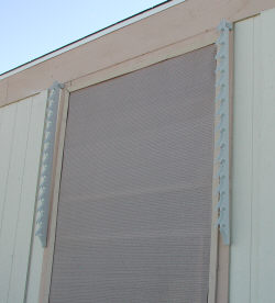 window awning stringers