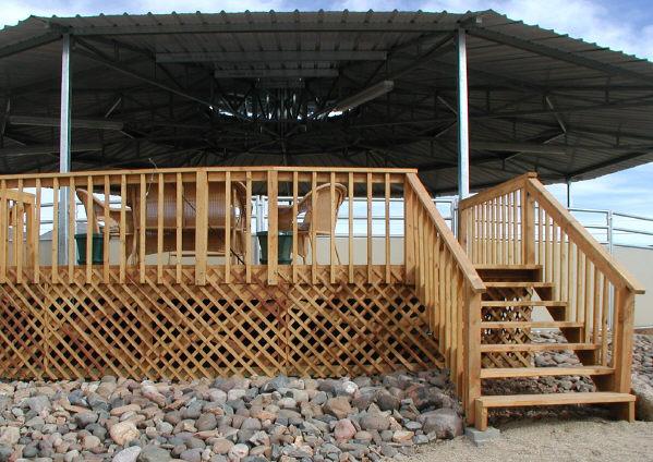 winterize wood deck