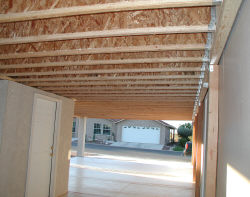 building patio cover