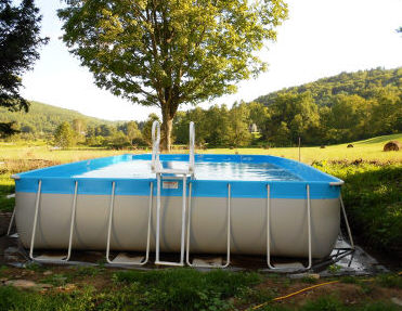 Intex Pool Unlevel
