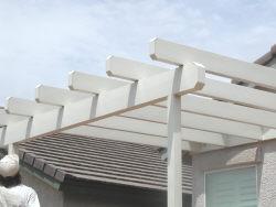 Alumawood header beam