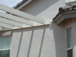 Lattice rafters
