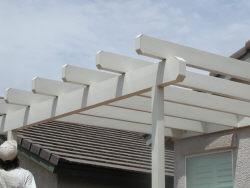 Lattice awning