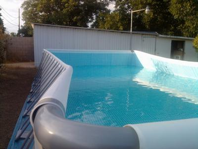 Sides Bowing On Intex Pool