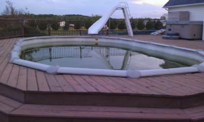 Used Oval Pool