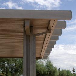 freestanding aluminum awning