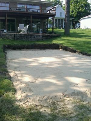 Sand Base For Pool