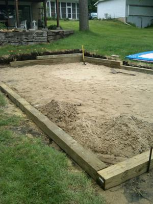 Sand Base for Intex Pool