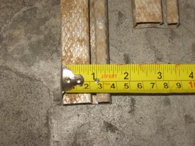 bottom rail width