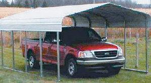 VersaTube RV Storage Shelter