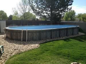 Older Doughboy Pool