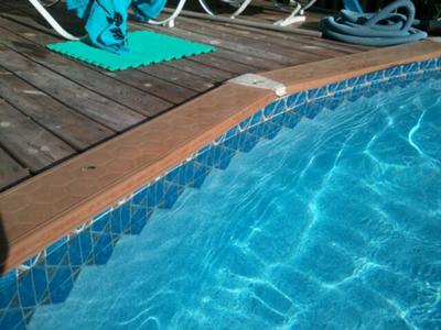 Pool Liner and Deck