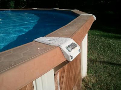 Pool Top Rails