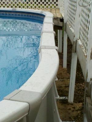 Pool Side Rails