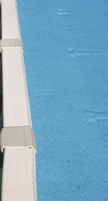 Indentations In Pool Liner