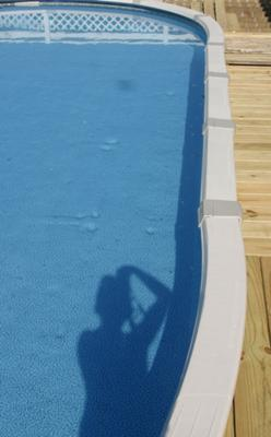 Oval Pool With Installation Problem