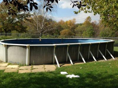 Above Ground Oval Pool