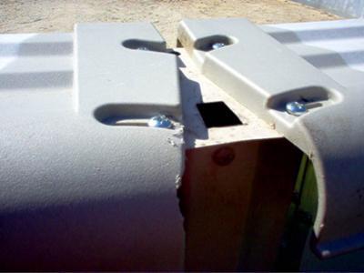 pool top rails