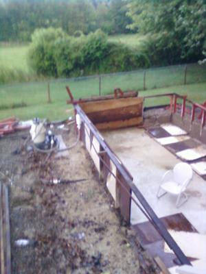 Above Ground Pool Take Down