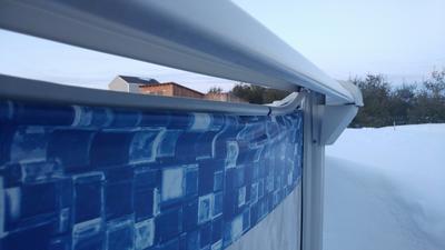 Gap at Top of Pool Wall