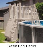 Pool Resin Deck