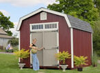 Colonial Garden Shed