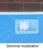 Skimmer Installation