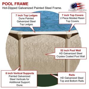 Oval Swimming Pool