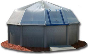 above ground pool sun dome