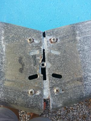 Older Pool Top Rails