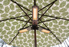 Patio Umbrella Heater