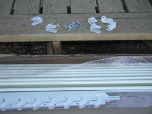 window awning parts
