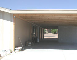 build wood awning